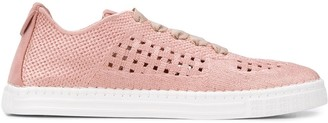AGL Basket-Woven Low-Top Trainers