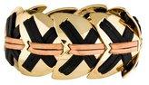 Giles & Brother Leather Link Bracelet