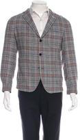 Gant Wool Plaid Blazer