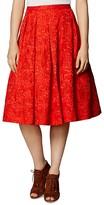 Karen Millen Devoré Full Skirt