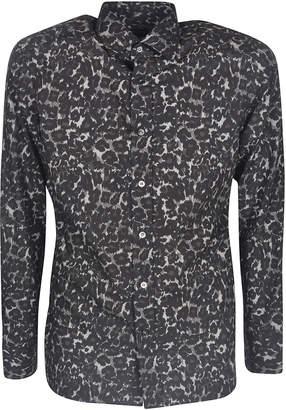 Tom Ford Animal Print Shirt