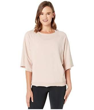 Manduka Resolution Raglan Pullover (Bark) Women's Sweatshirt