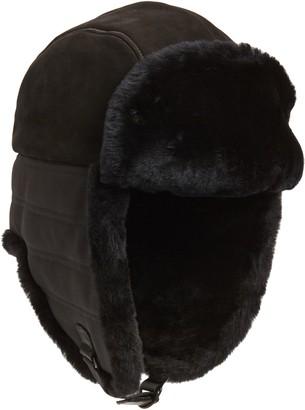 UGG Genuine Shearling Lined Trapper Hat