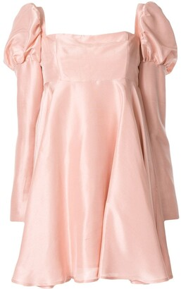 macgraw Romantic silk short dress