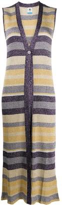 M Missoni Long Striped Cardigan