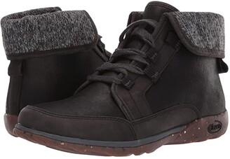 Chaco Barbary (Black Iron) Women's Lace-up Boots