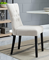 Modway Beige Silhouette Dining Side Chair
