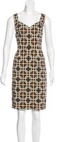 David Meister Sleeveless Sheath Dress