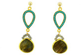 Mabel Chong - Emeralda Earrings