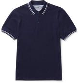Brunello Cucinelli Slim-Fit Contrast-Tipped Cotton-Piqué Polo Shirt