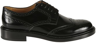 Christian Dior Evidence Perforated Derby Shoes