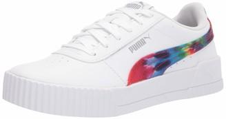 Puma unisex child Carina Sneaker