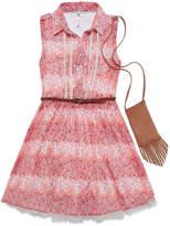 Knitworks Knit Works Chiffon Shirtdress - Girls' 7-16