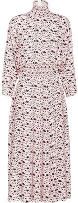 Prada Paisley-Print Midi Dress