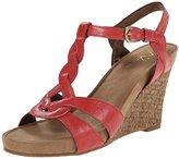 Aerosoles A2 by Women's Stone Plush Wedge Sandal