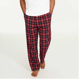 Joe Fresh Men's Flannel Sleep Pants, Dark Teal (Size M)