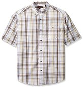 Wolverine Men's Big-Tall Men's Petoskey Big and Tall Cotton Short Sleeve Shirt