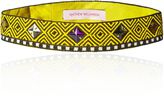 Matthew Williamson Yellow Tribal Beaded Belt