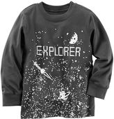 "Carter's Baby Boy Explorer"" Space Graphic Tee"