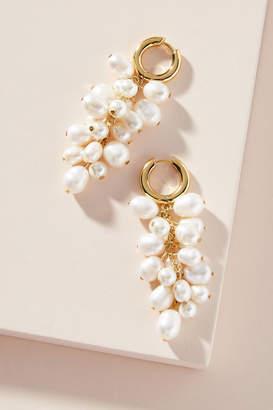 BaubleBar Pearl Cluster Drop Earrings