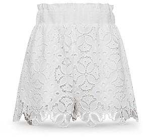Jonathan Simkhai Alexandra Embroidered Floral Shorts