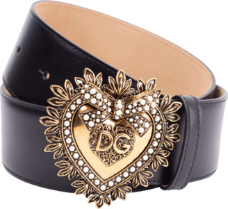 Dolce & Gabbana Devotion Wide Belt