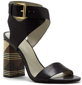 1 STATE 1.State Rayla Stacked-Heel Strappy Sandals