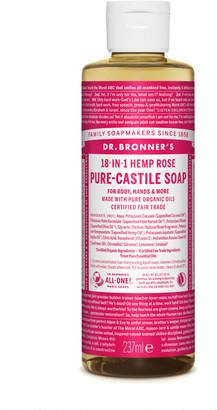 Dr. Bronner's Organic Rose Castile Liquid Soap 237Ml