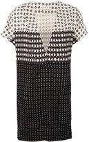 Etro - v-neck shortsleeved dress