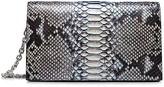 Calvin Klein Python Small Clutch + Chain Strap