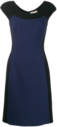Emilio Pucci sleeveless mini panel dress