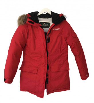 Peak Performance Red Synthetic Jackets