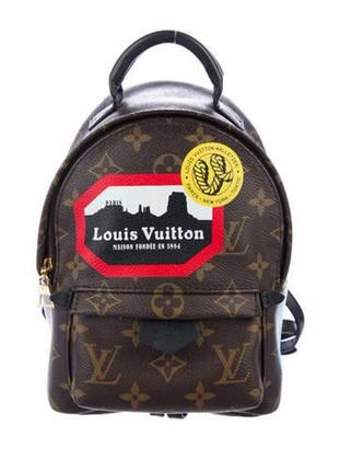 Louis Vuitton World Tour Mini Palm Springs Backpack Brown