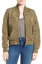 French Connection Petite Women's Bomber Jacket