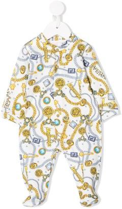 Versace Jewel Print Pyjamas