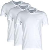 Boss Shirt Ss Vn Bm White Classic V-neck T-shirt (triple Pack)