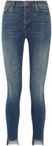 J Brand Carolina High-rise Skinny Jeans - Mid denim