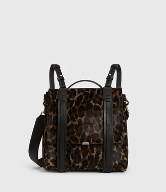AllSaints Kim Leather Backpack