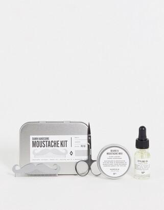 Men's Society Moustache Grooming Kit