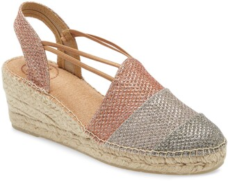 Toni Pons Tour Espadrille Wedge