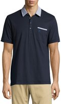 Original Penguin Colorblock Cotton Polo Shirt