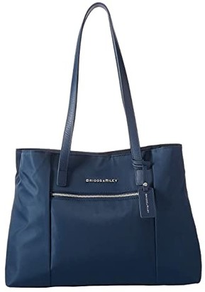 Briggs & Riley Essential Small Tote (Navy) Handbags