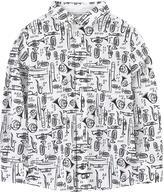 Dolce & Gabbana Illustrated poplin shirt