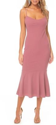 Katie May Twirl Sleeveless Drape Back Dress