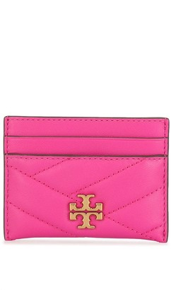 Tory Burch Kira chevron-quilted cardholder