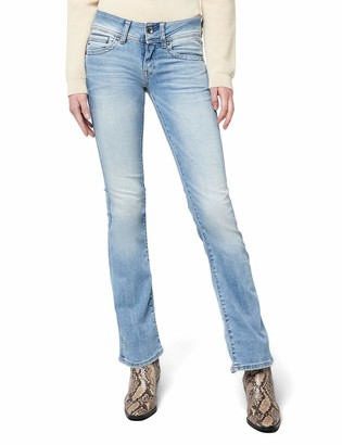 G Star Women's Midge Saddle Mid Rise Bootleg Fit Jean in Brantley Stretch
