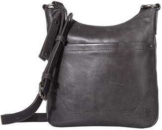 Frye Melissa Swing Pack (Carbon) Cross Body Handbags