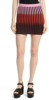 Opening Ceremony Women's Dip Dye Stripe Knit Skirt