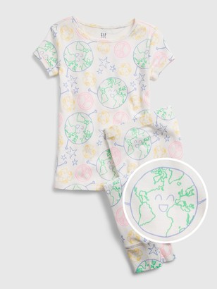 Gap Kids Organic Cotton Earth PJ Set