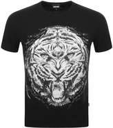 Just Cavalli Tiger T Shirt Black